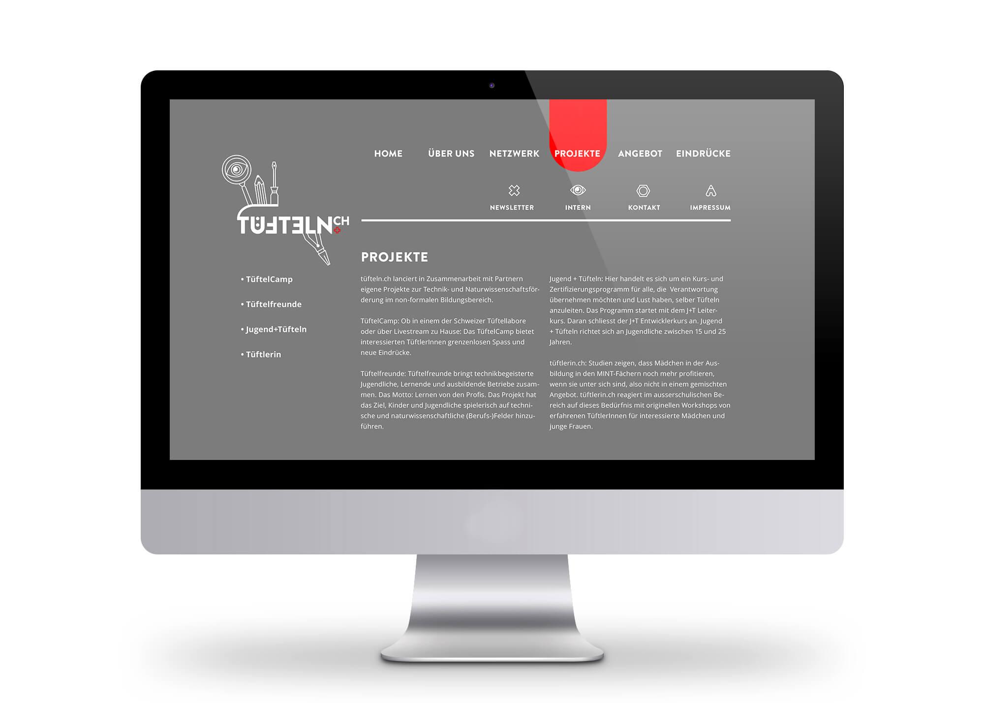 Tuefteln.ch_Web_Projekte