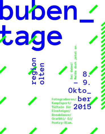 Bubentage '15